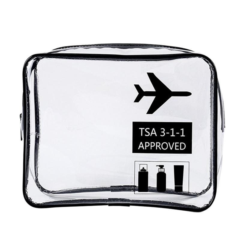 84f9b31e24c13c 2019 Medium Size Environmental Protection PVC Transparent Cosmetic Bag  Women Travel Make Up Toiletry Bags Makeup Organizer Case From Swiscafe, ...