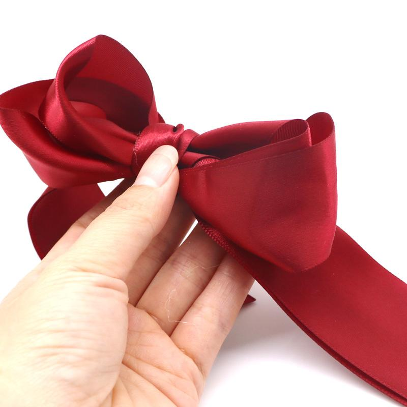 New 1pcs Women Lady Ribbon Bow Rope Scrunchie Satin Ponytail Holder Hair Band Hair Accessory Girl Beauty Holder Dropping 100% Guarantee Styling Tools
