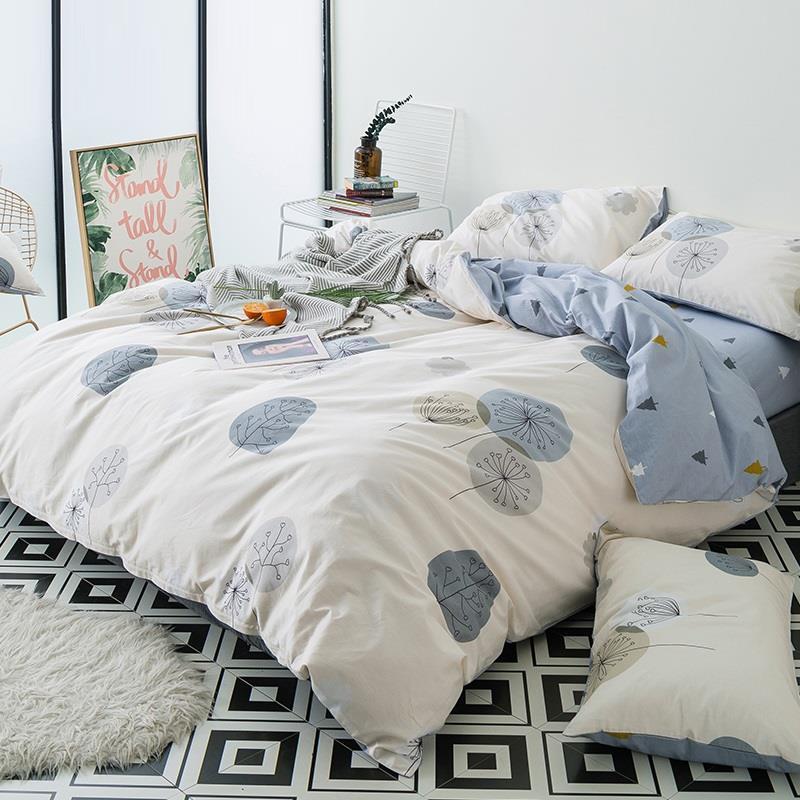 Matrimonio Bed Queen : Casal lencoes duvet cover queen size dekbedovertrek nordico