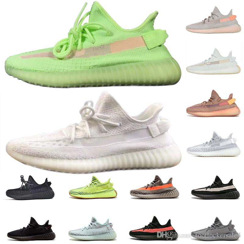 7dc591b72402e 2019 2019 Glow In The Dark Clay True Form Hyperspace GID 35O V2 Men Running Shoes  Static Women Sport Sneakers Designer Trainers Size 5 13 From ...