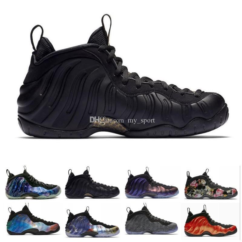 new style 2a6c5 c6b47 Foam One Pro OG Penny Hardaway Men Basketball Shoes Alternate Galaxy  Release Legion Green Rust Pink Denim Dark Stucco Sport Sneakers 8-12