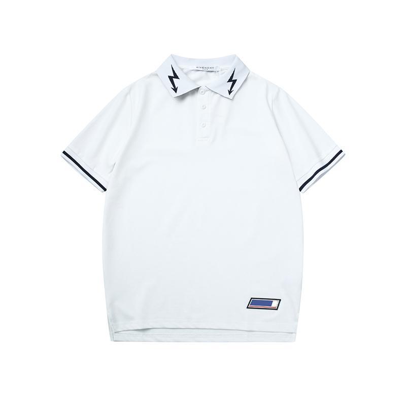 6cc4ef9c5552b0 Großhandel Luxus Herren T Shirt T Shirt Designer Poloshirts High Street Brief  Druck Kleidung Herren Marke Poloshirt Sommer Hemd 2019 Von Yolala