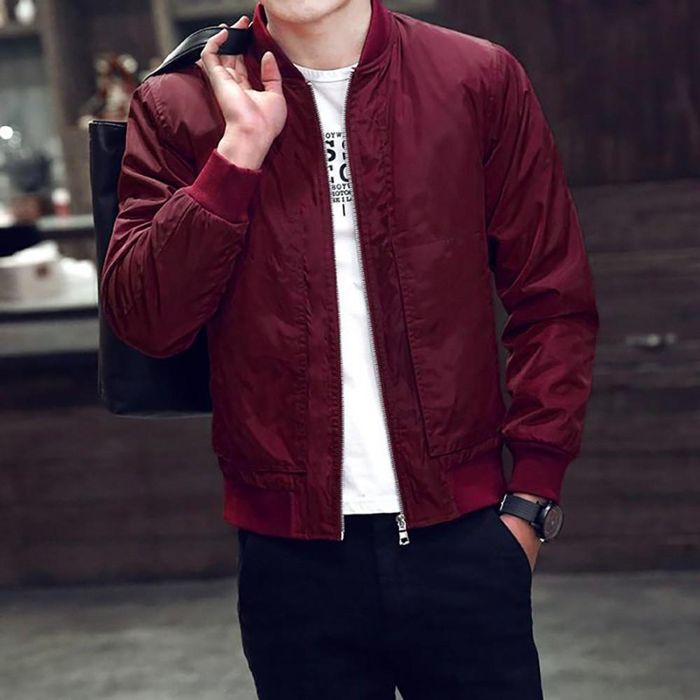 f029cae0931c 2018 Men Jacket Winter Jackets Mens Fashion Clothing Trench Coat Sweater  Slim Long Sleeve Warm Zipper Coats Male Outwear Denim Biker Jacket Womens  Mens ...