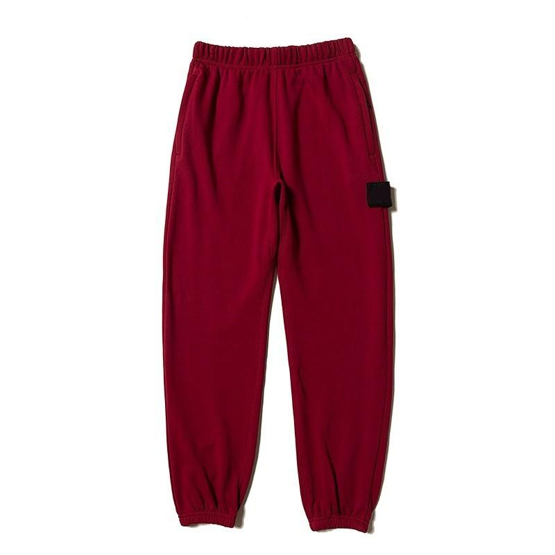 vari stili dopo stati Uniti Street Brand Reflective Strip Pantaloni bicolore neri e rossi Coppia uomo e  donna Coppia pantaloni sportivi Jogger HFSSKZ058