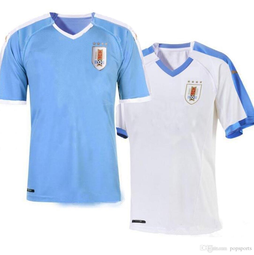 half off c4b2b 78673 Uruguay National Team 2019 Copa América kit Soccer Jersey 19/20 football  Shirt Home L.suarez E.cavani D.GODIN Away Uniforms
