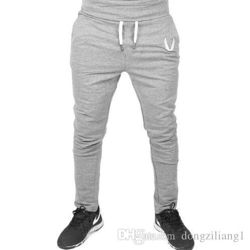 Compre 2019 El Más Nuevo Para Hombre Pantalones De Chándal Otoño Invierno  Hombre Gimnasios De Fitness Culturismo Joggers Pantalones De Entrenamiento  ... b3c4c8b2638d