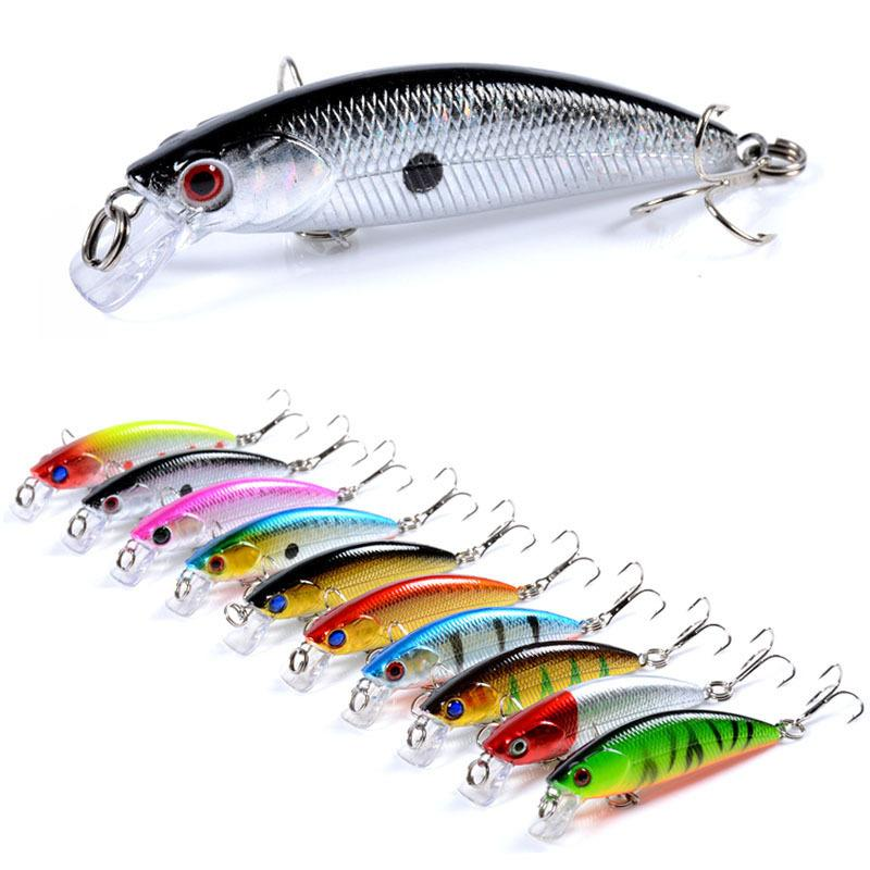 New Minnow Jerkbaits Flash Laser shallow diving Lure 6.7cm 5g Dart and Stop & Go action Freshwater fishing bait