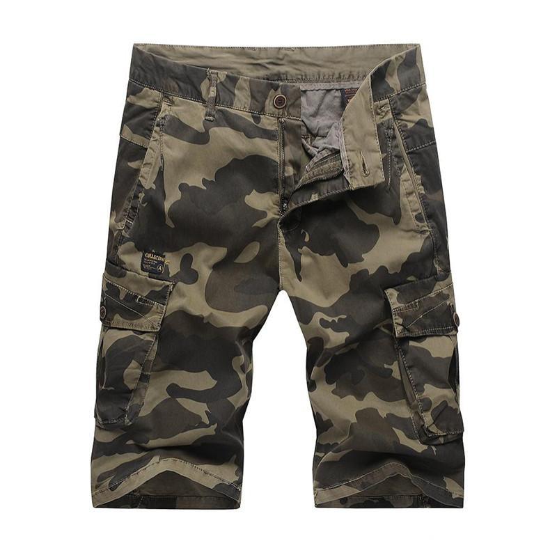 Pantalon Poches 100 Nouveau Avec Acheter Coton Décontracté D'été 5qSTfn1Zw