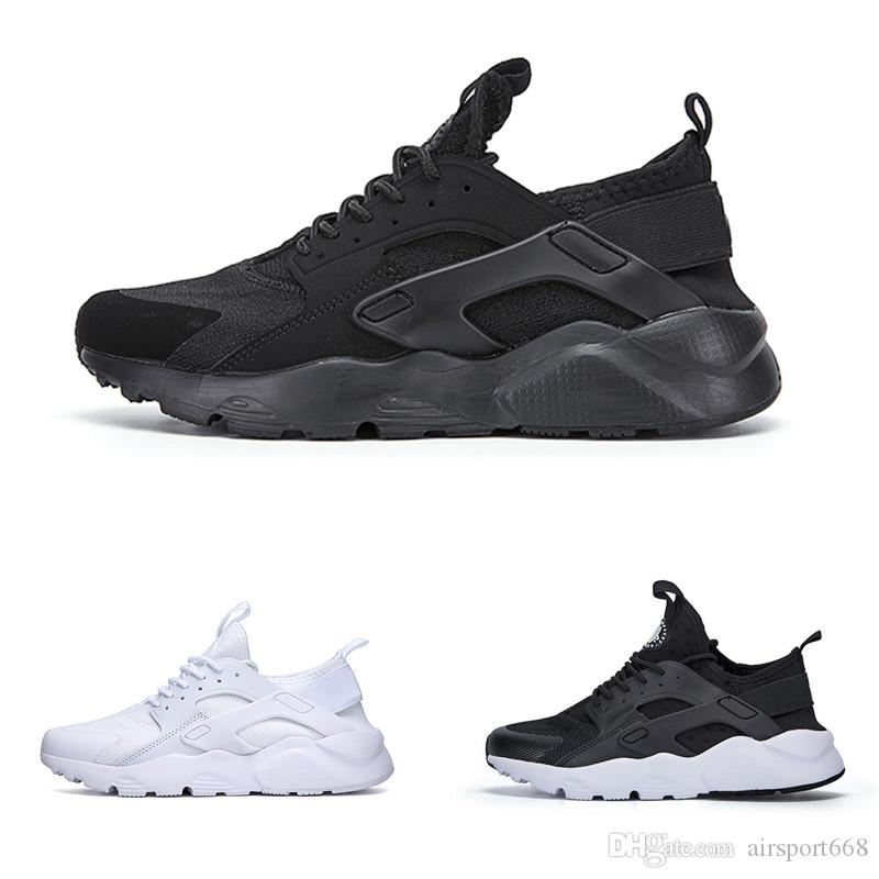 6e690e6f3951 Air Huarache 1.0 4.0 Designer Running Shoes Triple Black White Gold Red  Fashion Huaraches Mens Trainers Women Sports Sneaker On Sale Canada 2019  From ...