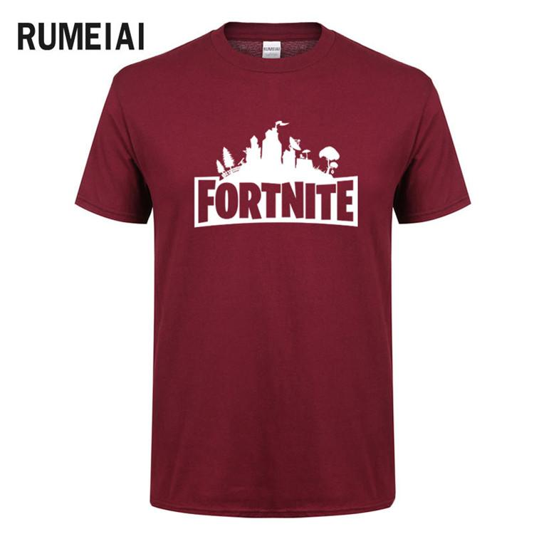 725bd214 Fortnite Luxury Men T Shirt Casual Short Sleeve Men'S T Shirts Print T  Shirts Camisetas Hombre Tops Tees T Shirts SN5 Raid Shirt T Shirts In A Day  From ...