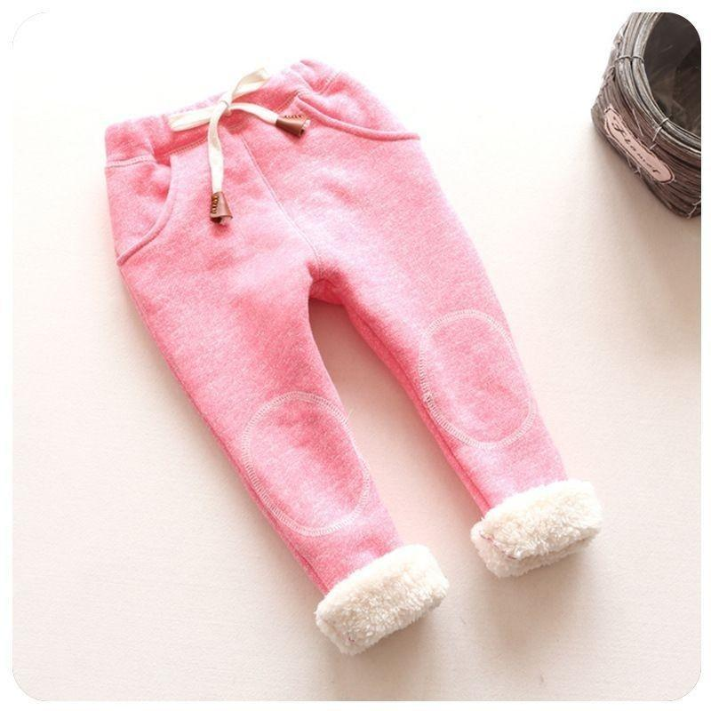 good quality Baby Girl Pants Autumn Winter Kids Girls Trousers Casual Baby Girl Clothes Thick Warm Pant Infant Clothing