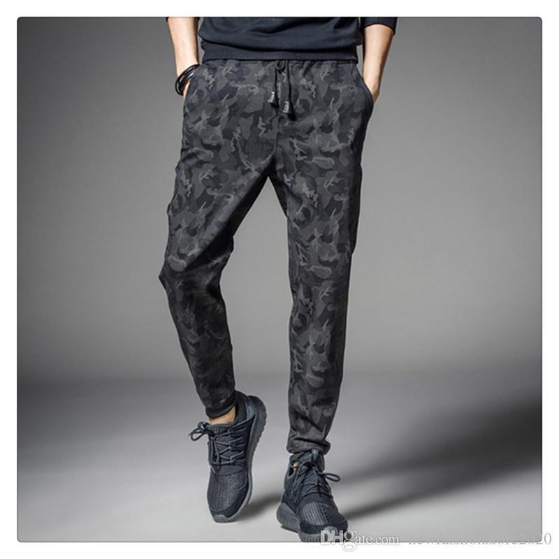 Shorts & Bermudas New Mens Camo Zip Pocket Drawstring Casual Sports Bottoms Comfortable Shorts
