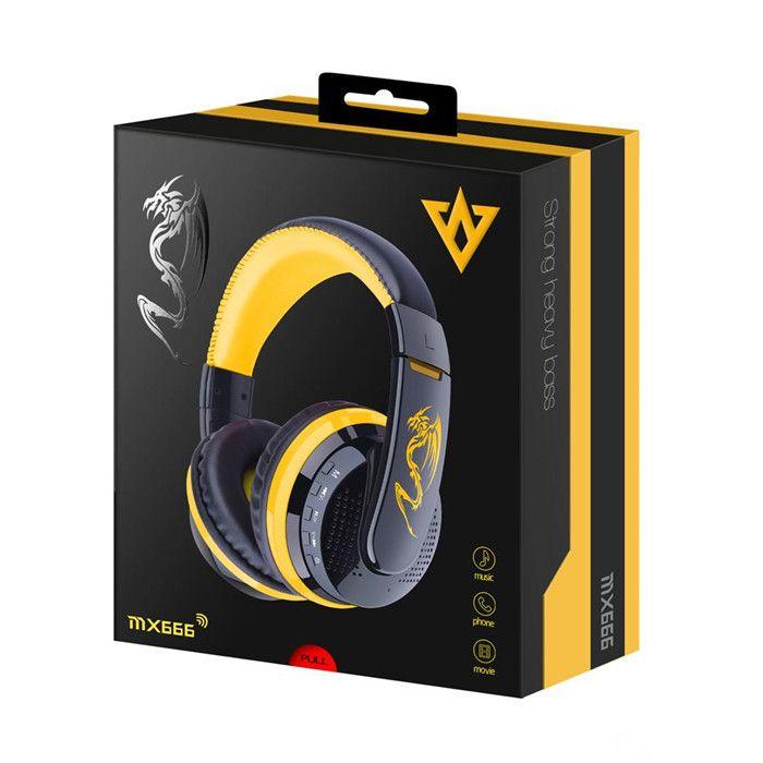 066446286a8 Hot Selling MX666 Headset Stereo Bluetooth Headphones Overhead Super ...