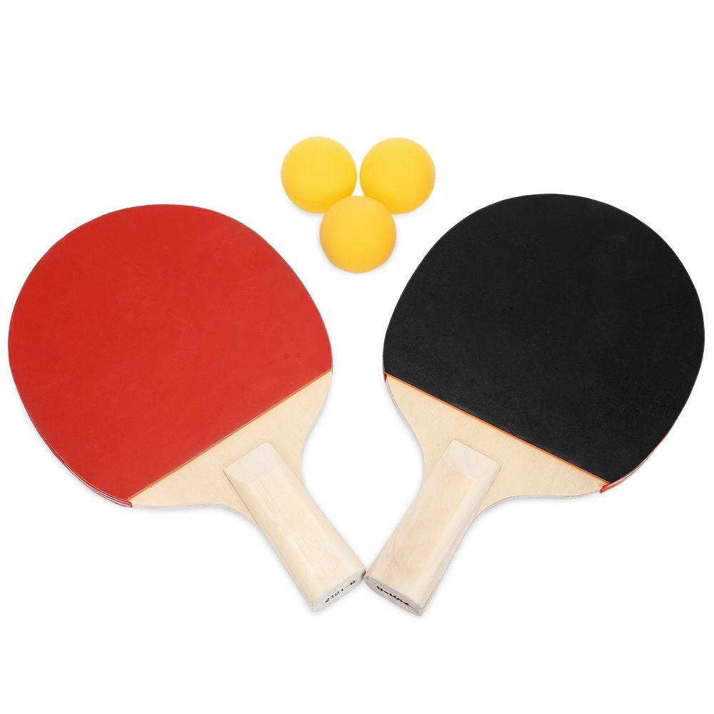 c28787ea8 Compre Ténis De Mesa Ping Pong Conjunto De Raquete Com 3 Bolas De  Xuliangxian