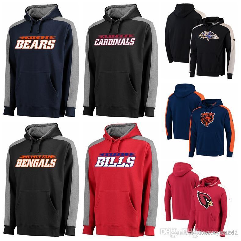 2019 Luxury Sweatshirt Men Brand Hoodie Cardinals Baltimore Ravens Buffalo  Bills Carolina Panthers Chicago Bears Bengals Iconic Pullover Hoodie From  Anada 550ac2e39