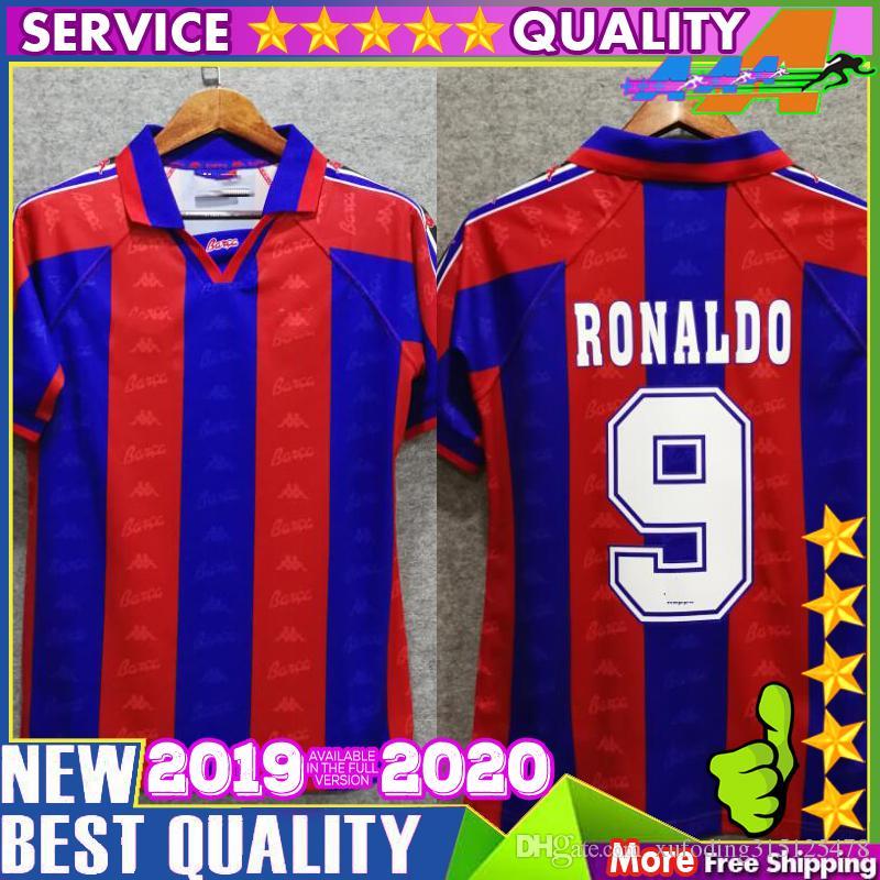 f22c09e7d 2019 96 97 Ronaldo Home Jersey Retro Soccer Jersey 1996 1997 Ronaldo Home Classic  Thailand Quaersey 1996 1997 Ronaldo Home Classic Football Shirt From ...
