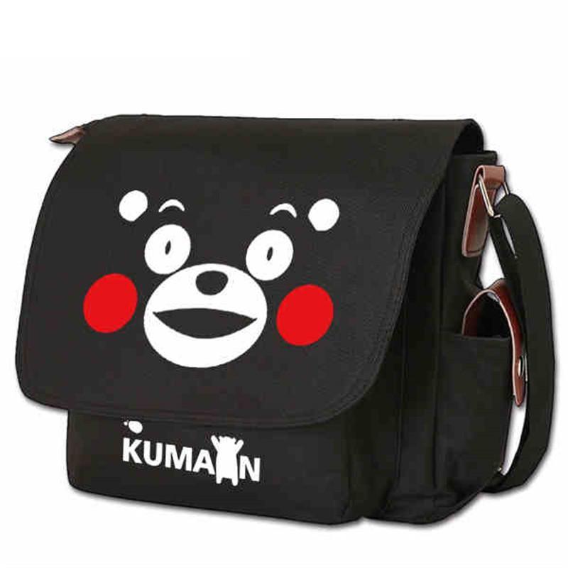 Anime Kumamon Bear Tokyo SAO Handbag Shoulder Casual Zipper Cross ... c472a9f6c83f0