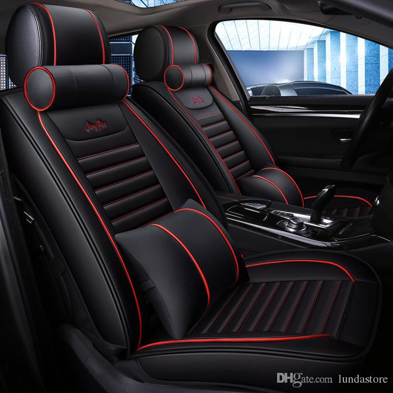 2019 New Luxury Pu Leather Car Seat Covers For Bmw 1 3 5 Series X1
