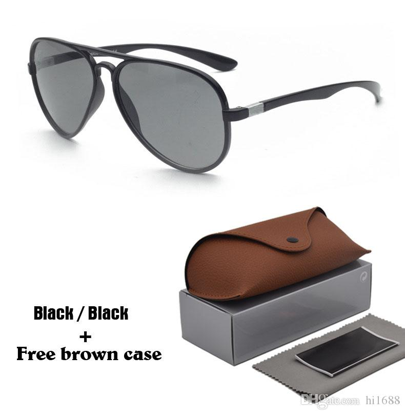 36ab58aff8 2019 Luxury Brand Sunglasses For Men Women Fashion Vintage Mirror Pilot Sun  Glasses UV400 Goggle With Cases And Box Sunglasses Hut Reading Glasses From  ...