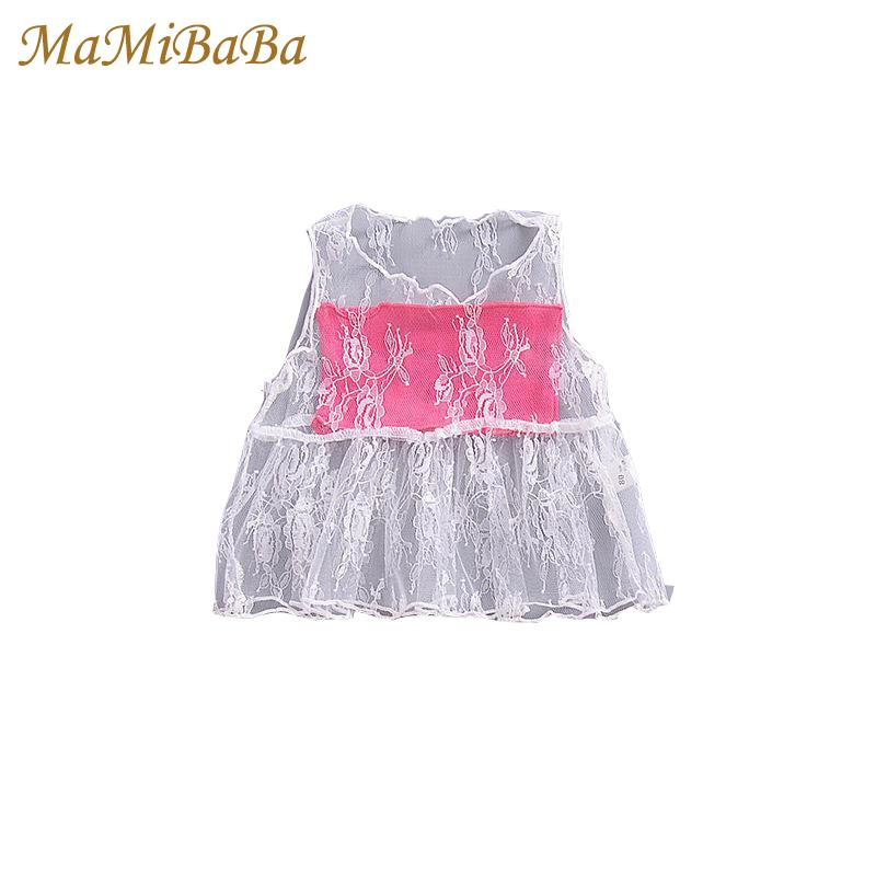 Baby Girls T-shirt Kid 2019 New Summer Fashion O-neck Sleeveless Child Tops For Girl T Shirt Cotton Cute Children Clothing Fd033