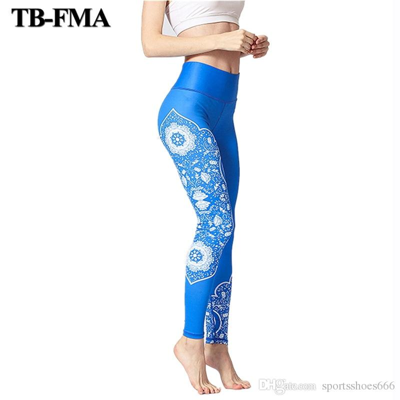 7bff083ee98a 2019 Yoga Pants Printed Best Leggings Women Stretched Fitness Yoga Pants  Workout Running Tight Leggins Sports Women Fitness Trousers #288832 From ...