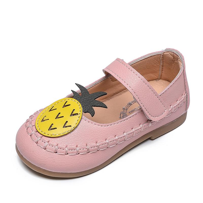 8c7a6fd227 AFDSWG PU Kids Boys Leather Shoes Black Princess Flat Shoes Pink Leather  Toddler White Child Shoe Girl Princess Quality Leather Shoes Leather Shoes  Sale ...