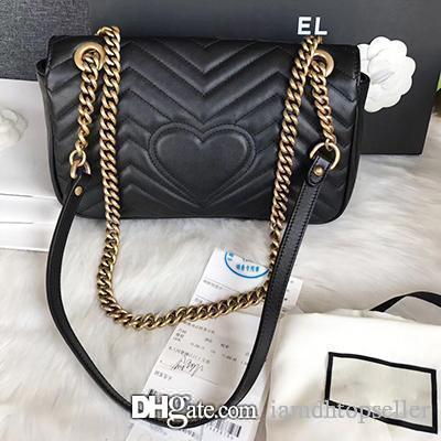 3c6c967f568c High Quality Marmont Shoulder Bag Designer Women Bag Luxury Handbags Famous  Brands Bags Real Original Cowhide Calfskin Luxury Shoulder Bag Clutch Bags  Beach ...