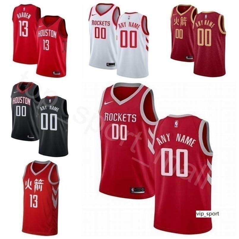 hot sale online 9db73 792b6 Men Youth Women Print Houston Basketball Rockets James Harden Jersey Earned  City Clint Capela Eric Gordon PJ Tucker Kenneth Faried Shirts