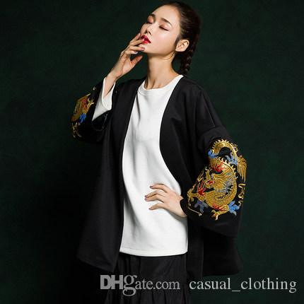 d4df2556217 2019 China Dragon Robe Female National Hanfu Spring Wind Chinese ...