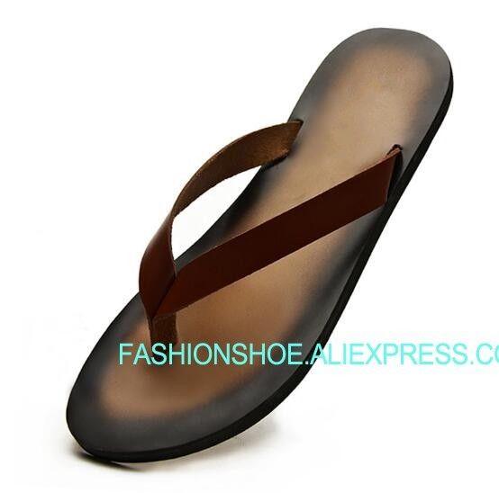 1371bc602 Fashion Hot Summer Mens Flip Flops Thong Sandals Flat Heel Comfortable Man  Slides Gladiators Mens Sandals Reef Sandals From Baby107