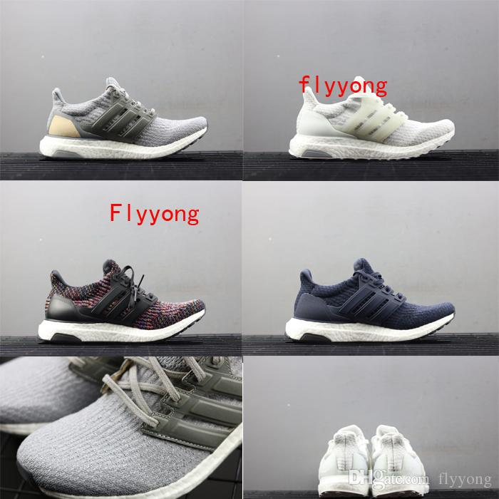 d75e9871a 2019 Brand Cheap Ultraboost 3.0 4.0 Running Shoes Men Women Ultra Boost 3.0  III Primeknit Runs White Black Sports Sneaker Original Quality From  Flyyong