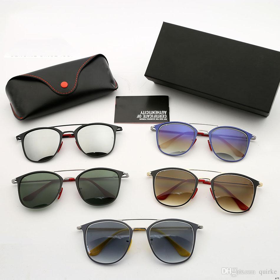 Compre Metálicas Anti Cristal De Templado Gafas Sol Deslumbrantes wXOTPZiku