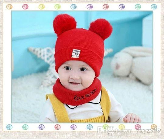 2019 Baby Hats 0 3 6 12 Months Old Baby Hats Winter Baby Hats 1 2 Years Old  Korean Male And Female From Yxyz999 167f1afaec4