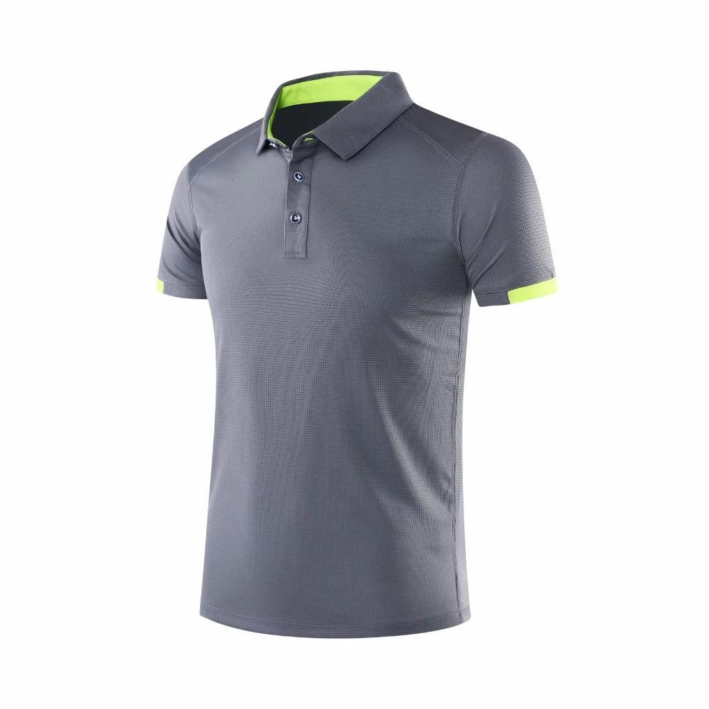 Men Polo Table Tennis Shirt Outdoor Sport Clothing Kit Running T