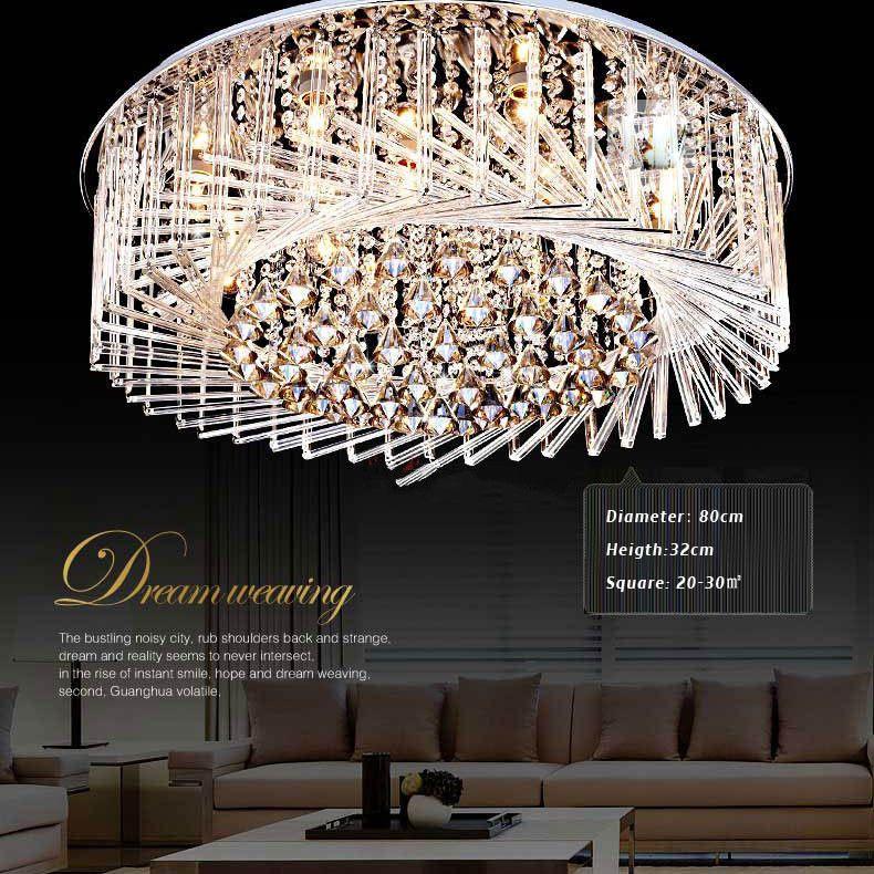 Lámpara Lámparas Nido de estar de Estilo Cristal sala techo dormitorio LED diseño Luces de Lámpara de cristal Luz de de de de moderno LED pájaro Japón vY7g6Ifyb