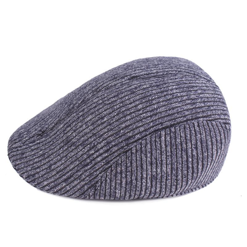 2019 Middle And Old Age Cap Men S Beret Winter Warm Front Hat Cotton  Thickened Old Man S Hat Men S Hat From Yiwu fashion cadc5e64573