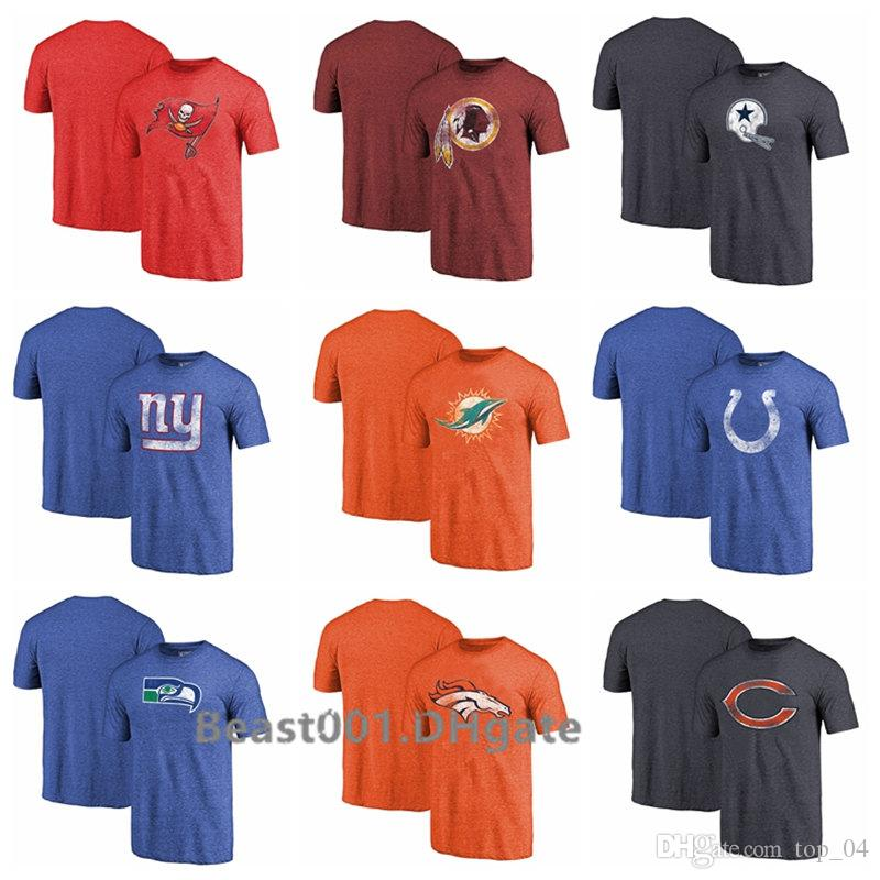 1ed01a6d Men Women Youth Redskins Buccaneers Cowboys Giants Dolphins Colts Seahawks  Broncos Bears Pro Line by Branded Tri-Blend T-Shirt