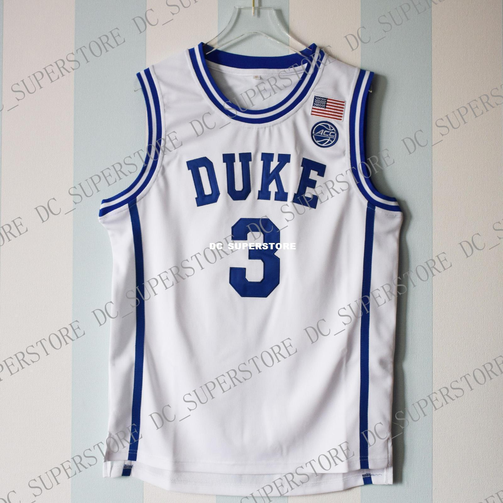 871f538d0925 2019 Cheap Custom Grayson Allen  3 Duke Blue Devils Basketball White Jersey  Stitched Customize Any Number Name MEN WOMEN YOUTH XS 5XL From  Dc superstore