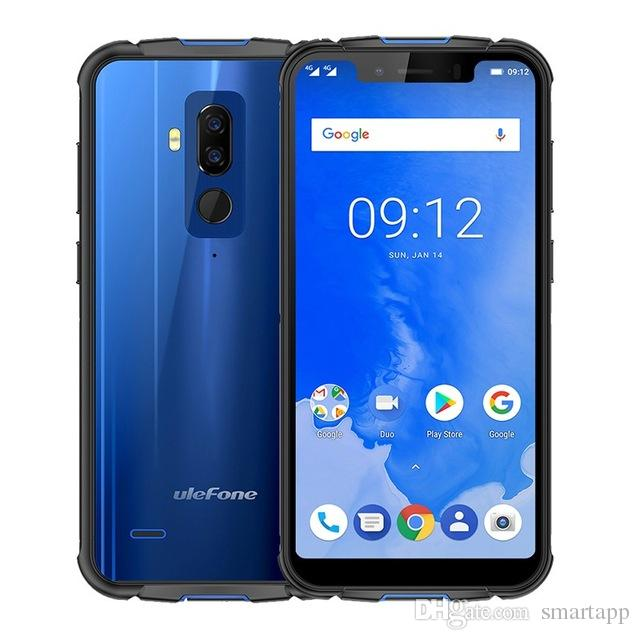 Ulefone Armor 5 IP68 Waterproof Smartphones Android 8 1 NFC Face ID  Wireless Charge 4G LTE 4GB 64GB cell phones