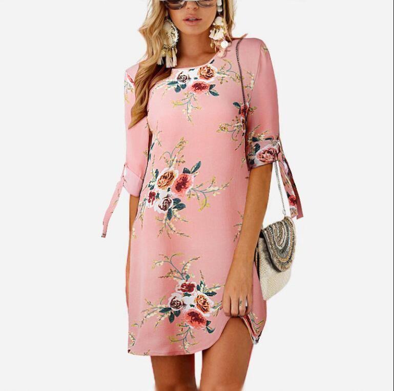 a8db8744c79c Vestido bohemio mujer verano sexy sin mangas correa de espagueti colmenas  columpios maxi vestidos largos vestido de fiesta más tamaño