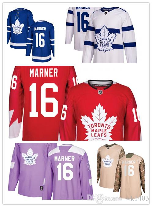 super popular 7acb5 42473 Toronto Maple Leafs jerseys #16 Mitch Marner jersey ice hockey men women  blue white red Authentic winter classic Stiched gears Jersey