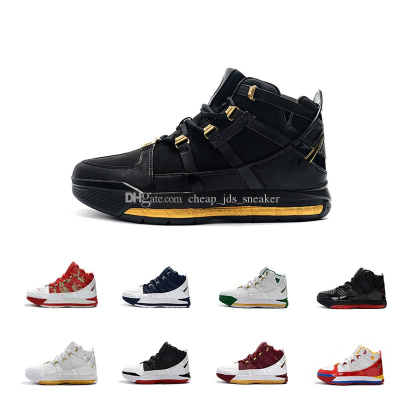 fcac4dd20 LeBron III 3 2019 New Arrival #23 Zoom Home SuperBron Mens Basketball Shoes  High Quality White Blue Red Black James 3s Sports Sneakers Running Shoes  Sports ...