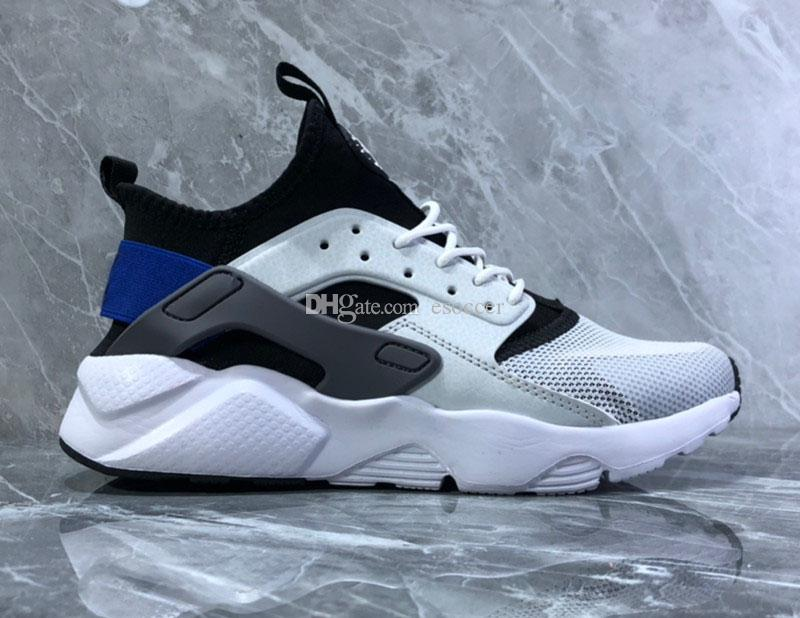 best service 859bd 55fe4 2019 New Color Blue Huarache Ultra Shoes Huraches Trainers For Men Sports  Outdoors Shoes Huaraches Free Drop Shipping Hurache