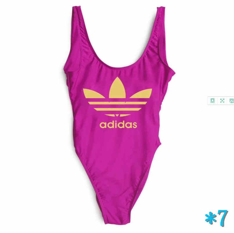 One-piece Womens Swimsuits Brand Bikini One-piece Swimwear for Women Sexy Bikini 6 Color High quality*7