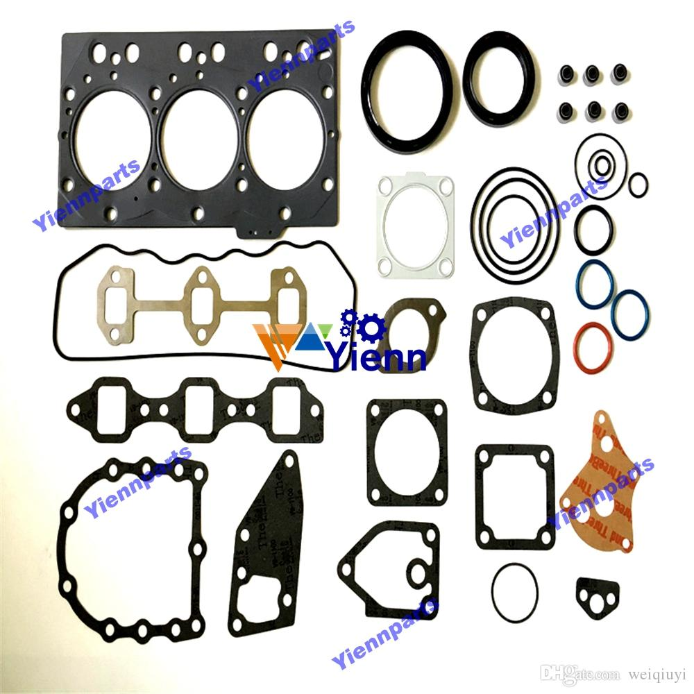 3TNE78 3TNE78A engine overhaul gasket kit 719822-92620 for Yanmar  3TNE78AC-EKM 3TNE78A-3A 3TNE78AC-EKG 3TNE78AC-KM diesel engine parts