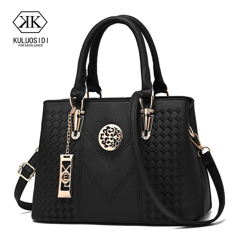 47bf1ee3304d Embroidery Messenger Bags Women Leather Handbags Bags for Women 2018 ...