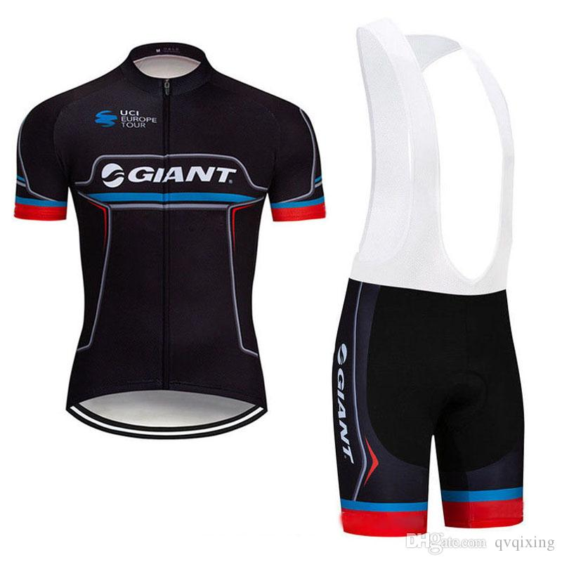 0790a5769 2019 GIANT Summer Men Cycling Jersey Bicycle Clothing Short Sleeve ...