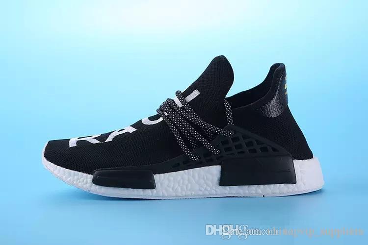 821b371644178 With BoxHomecoming Creme X NERD Solar PacK Human Race Running Shoes  Pharrell Williams Hu Trail Trainers Men Women Runner Sports Sneakers  Waterproof Running ...