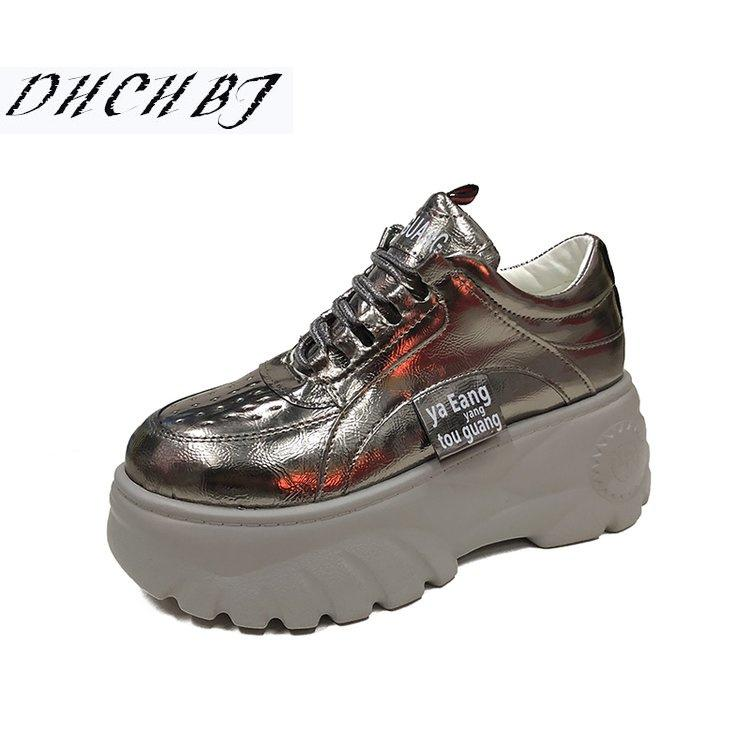 8ff1009e92b 2019 Spring Autumn Women Flat Casual Shoes Comfortable Platform Shoes Woman  Sneakers Ladies Trainers Chaussure Femme Womens Shoes Cheap Shoes From  Yera