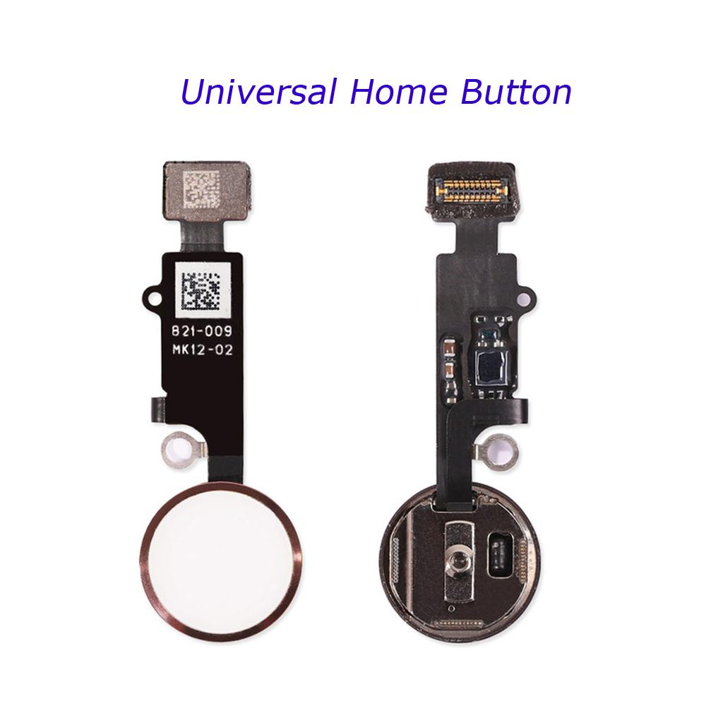 check out 9cf22 ee2b9 Universal Phone Home Button Repair Flex Cable Fingerprint Flex Cable for  iPhone 7 8 Plus Return Home Function Solution 3rd Generation